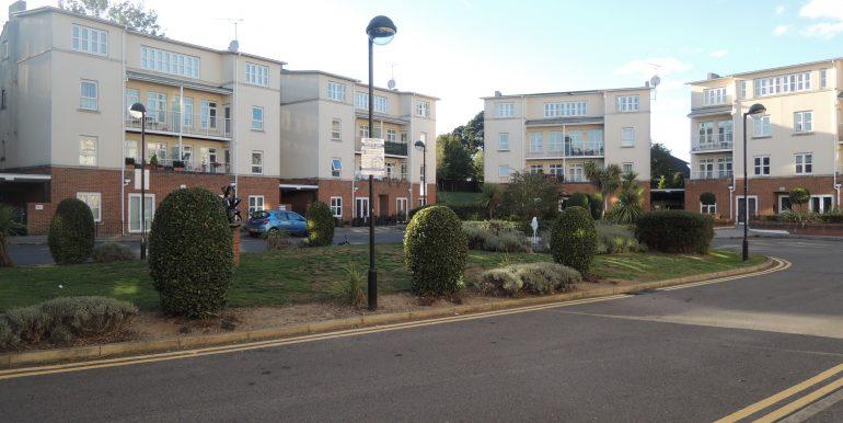 Girton court grounds
